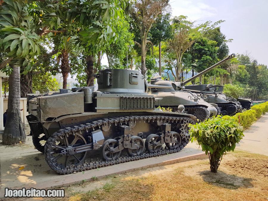 Museu Militar do Bangladesh em Daca