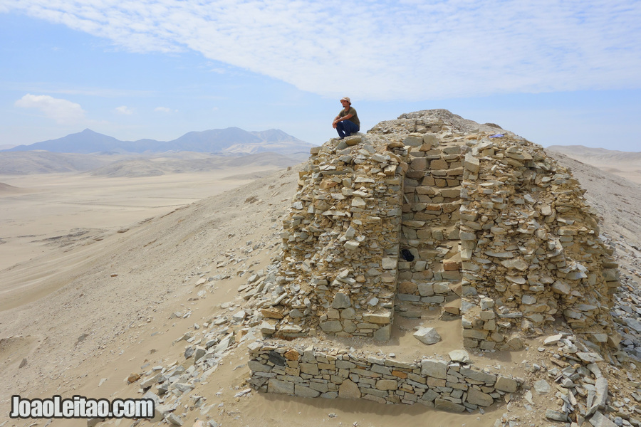 Observatório Solar e Forte de Chankillo, no Peru