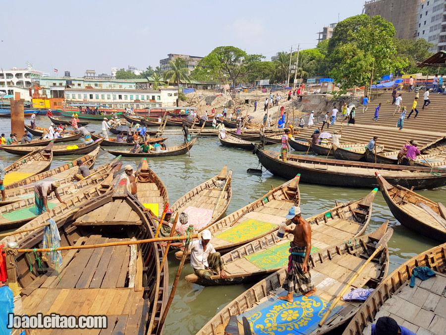 Porto de Sadarghat, Daca