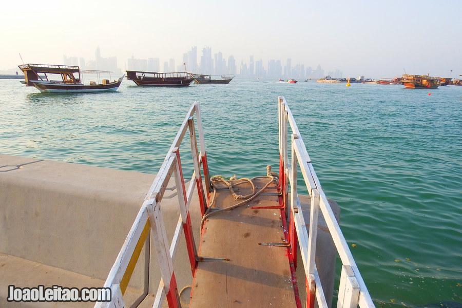 Doha city in Qatar