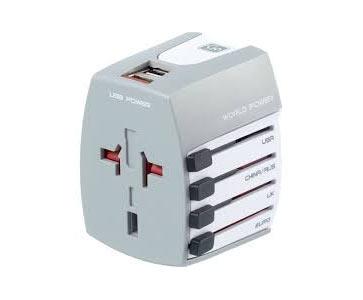 Go Travel Worldwide Adapter & USB