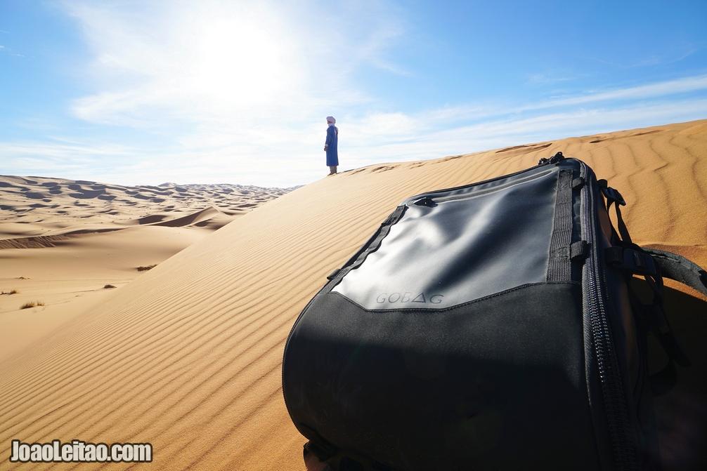 My GOBAG REVIEW in Sahara Desert - Morocco