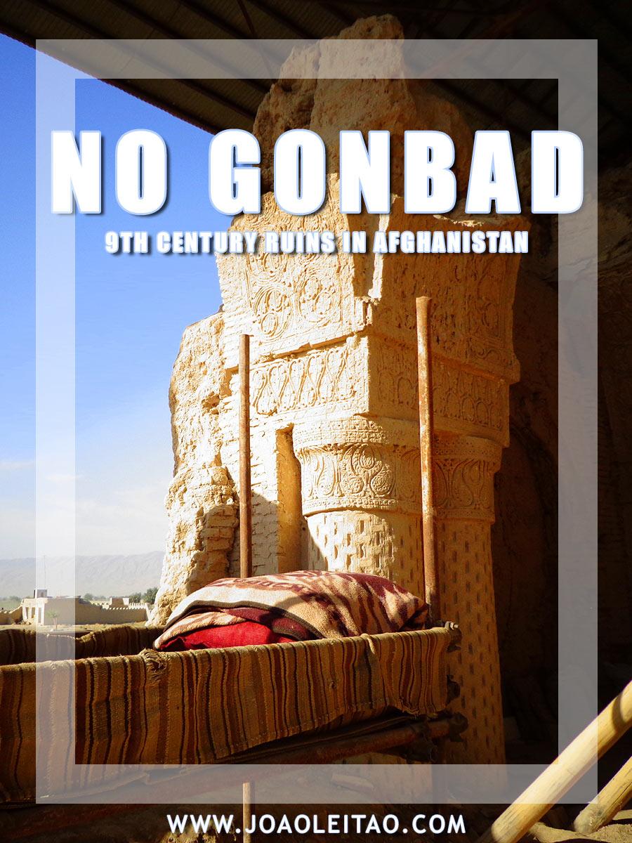 Masjid e No Gunbad - 9th century ruins in Balkh, Afghanistan