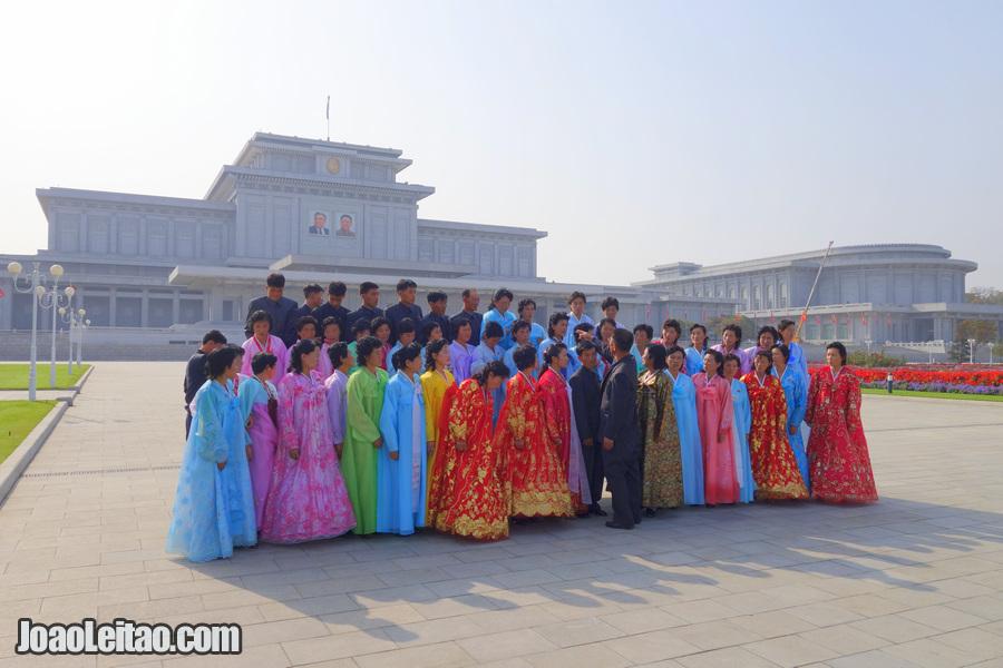 Palácio do Sol Kumsusan - Pyongyang