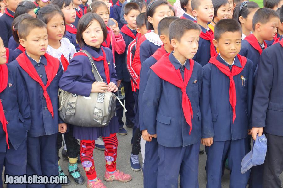 Pyongyang children