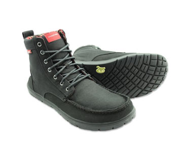 Lems Boulder Boot Black
