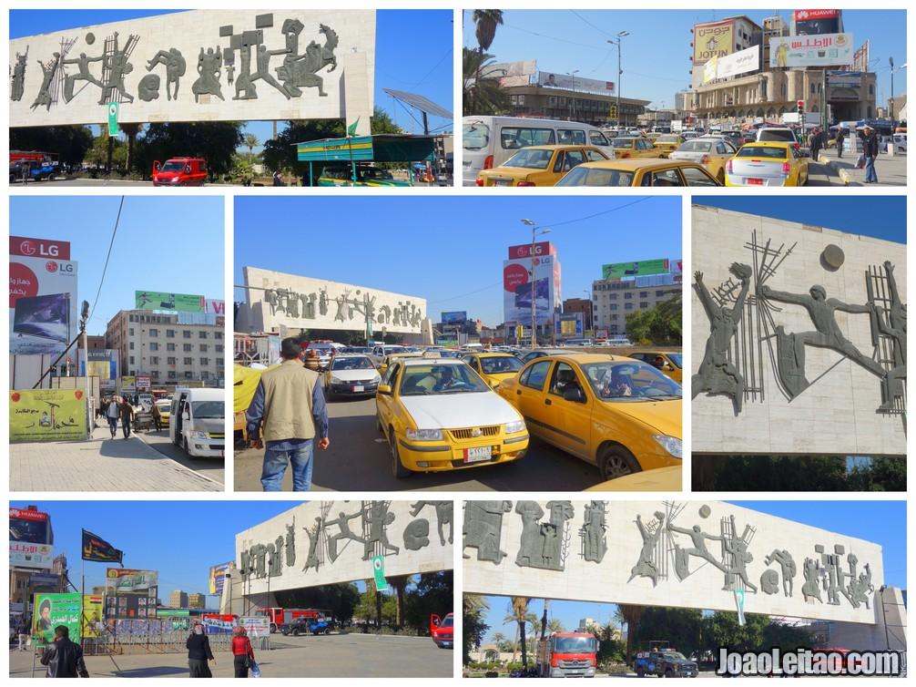 TAHRIR SQUARE BAGHDAD
