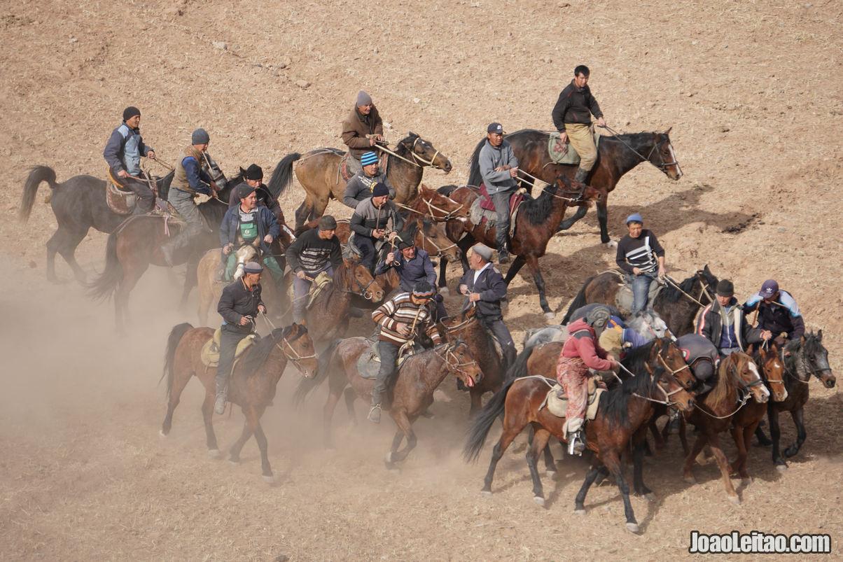 KOKBORU HORSE GAME KYRGYZSTAN
