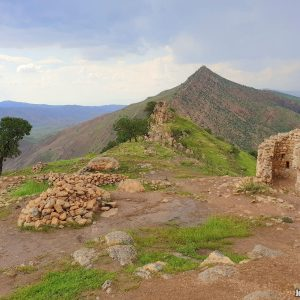 Castelo de Dwin, a idílica fortaleza de montanha de Saladino - Iraque 1
