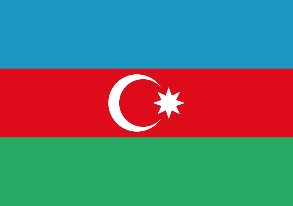 BANDEIRA DO AZERBAIJAO