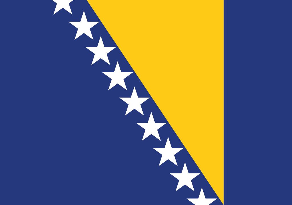 BANDEIRA BOSNIA E HERZEGOVINA