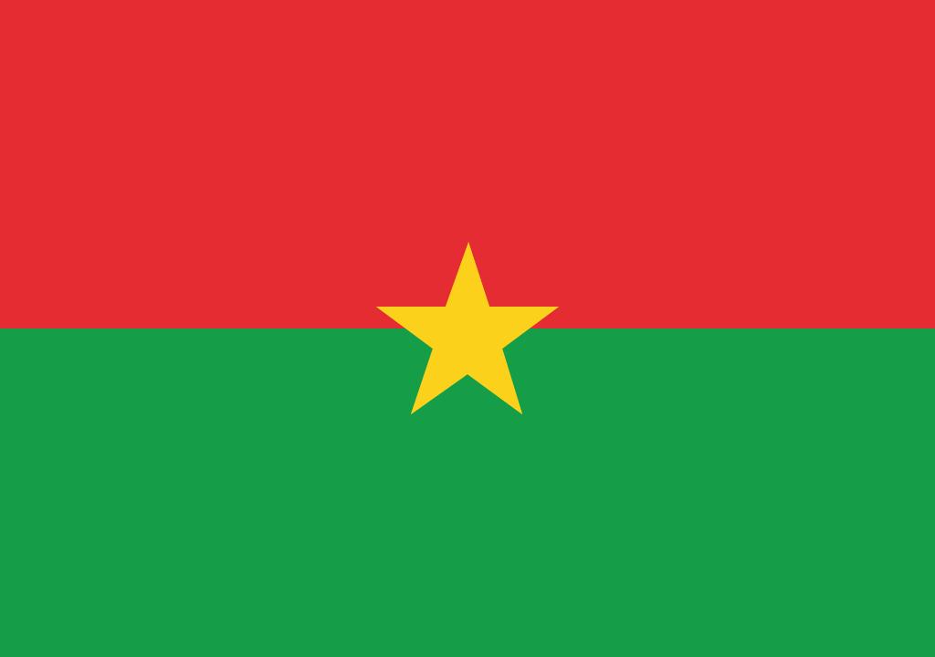 BANDEIRA DA BURKINA FASO