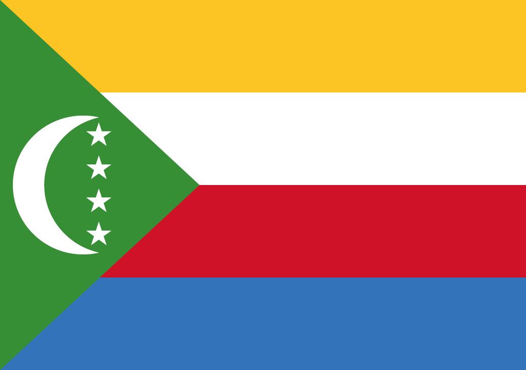 BANDEIRA DOS COMORES