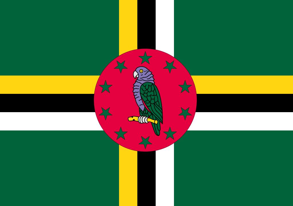 BANDEIRA DA DOMINICA