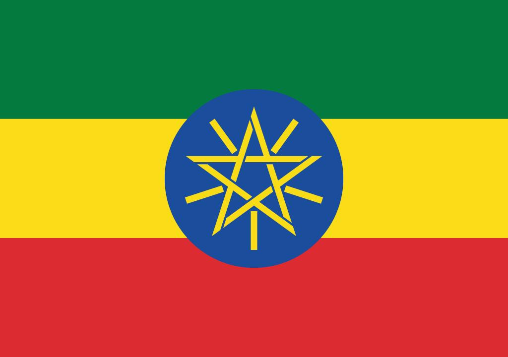 BANDEIRA DA ETIOPIA