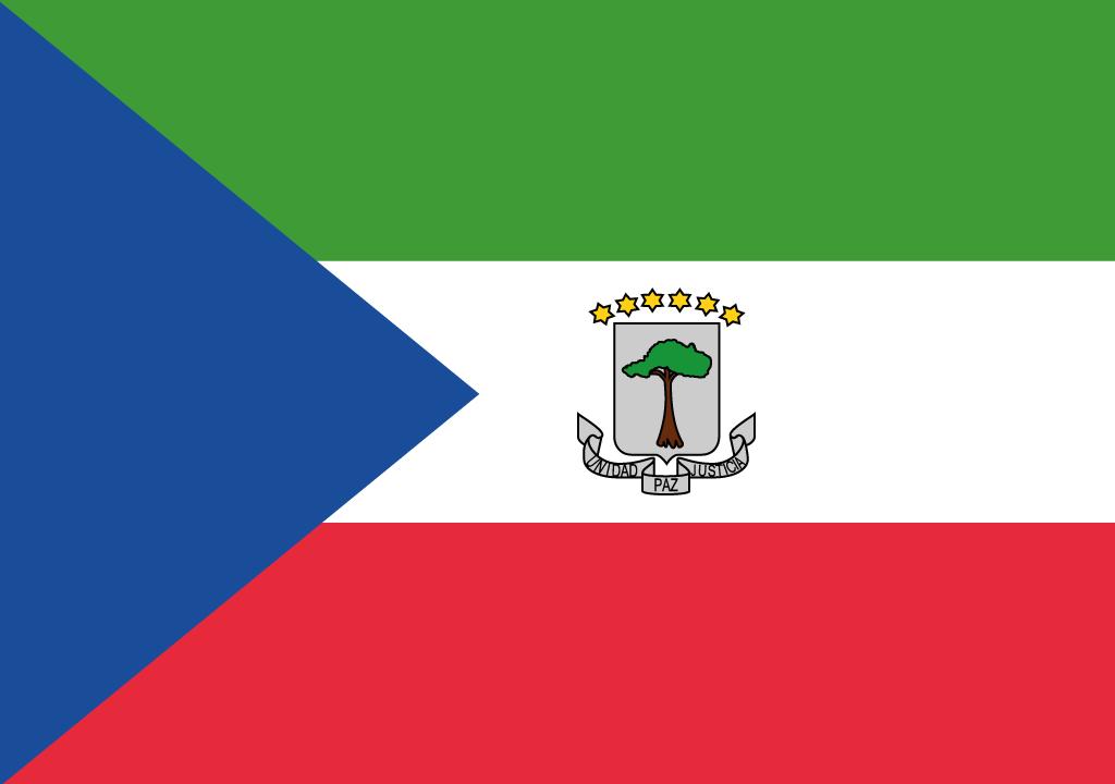 BANDEIRA DA GUINE EQUATORIAL
