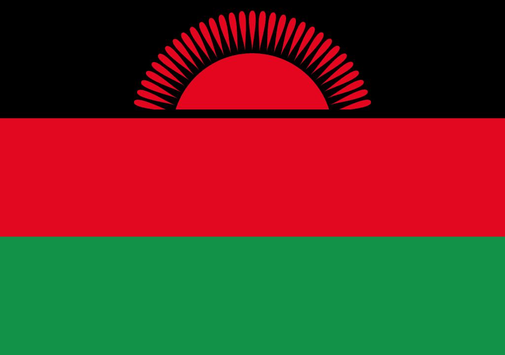 BANDEIRA DA MALAWI