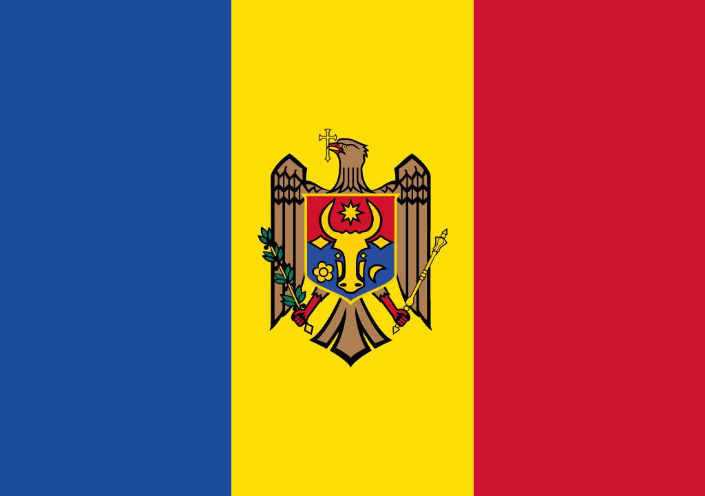 BANDEIRA MOLDAVIA