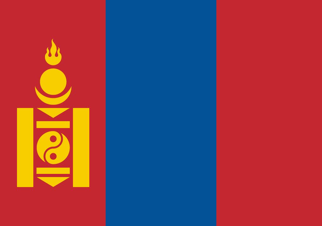 BANDEIRA DA MONGOLIA