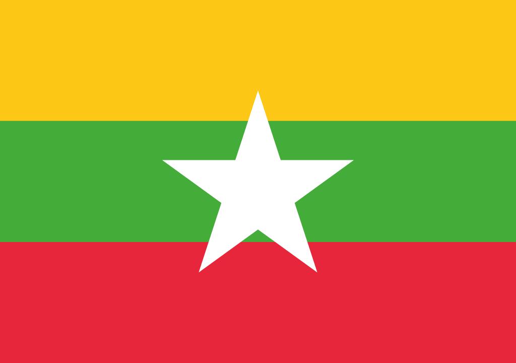 BANDEIRA MYANMAR