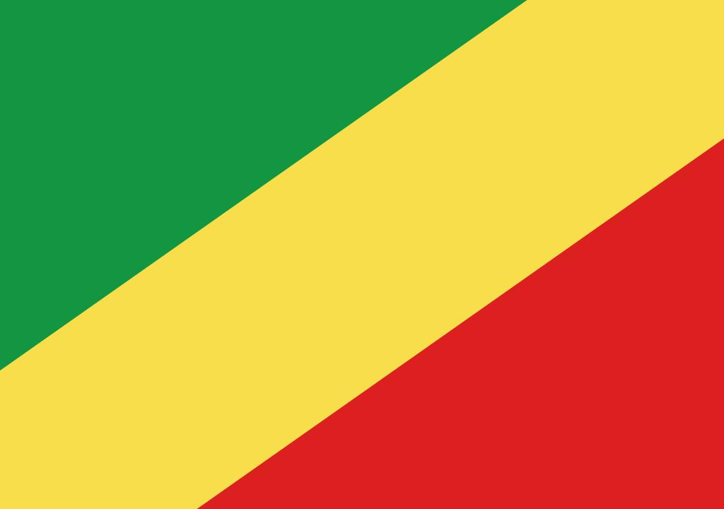 BANDEIRA DA REPUBLICA DO CONGO