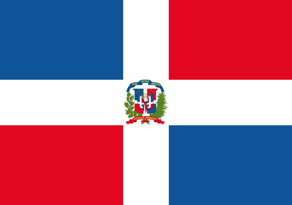 BANDEIRA DA REPUBLICA DOMINICANA