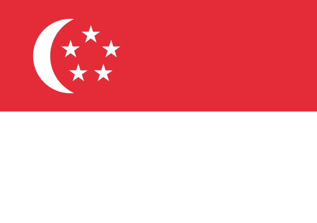 BANDEIRA SINGAPURA