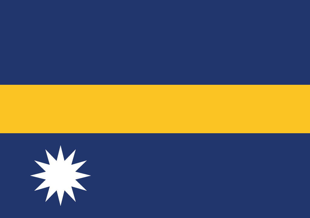 Flag of Nauru