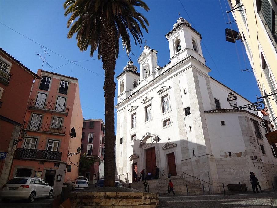 Fotografia Igreja de São Miguel, Alfama Lisboa