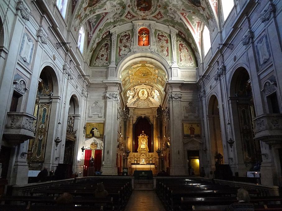 Fotografia Basílica de Nossa Senhora dos Mártires, Chiado Lisboa