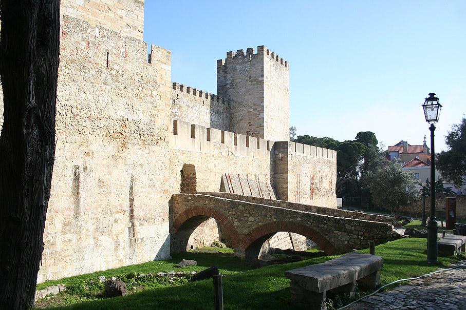 Fotografias Muralhas do Castelo de São Jorge, Lisboa