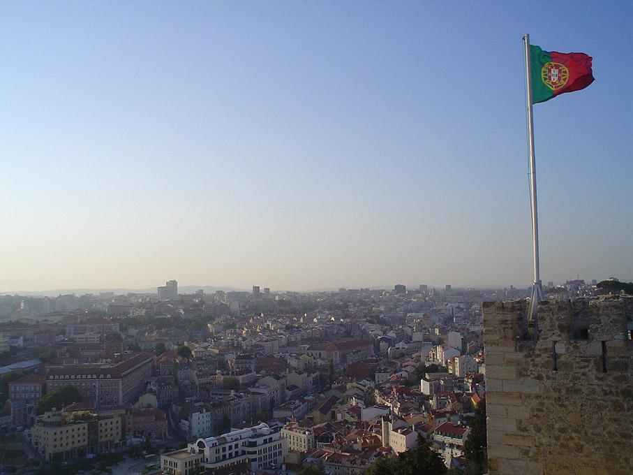 Vista de Lisboa do Castelo de São Jorge, Lisboa