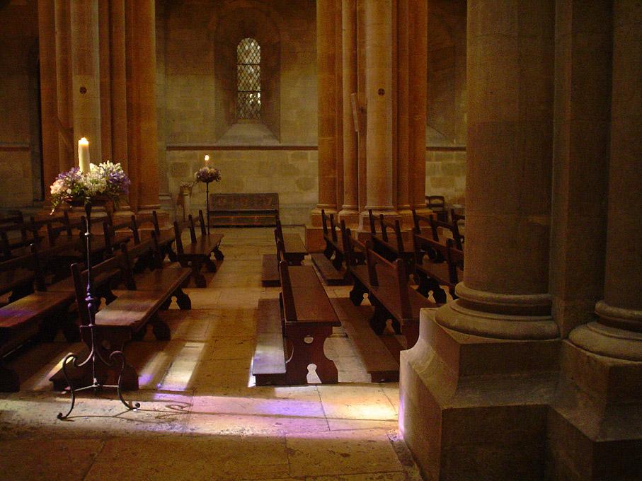 Fotografia Interior da Sé Catedral de Lisboa