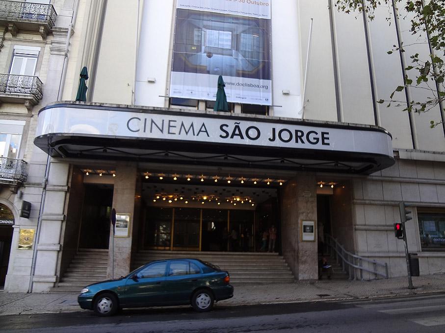 Fotografia Cinema São Jorge, Avenida da Liberdade Lisboa