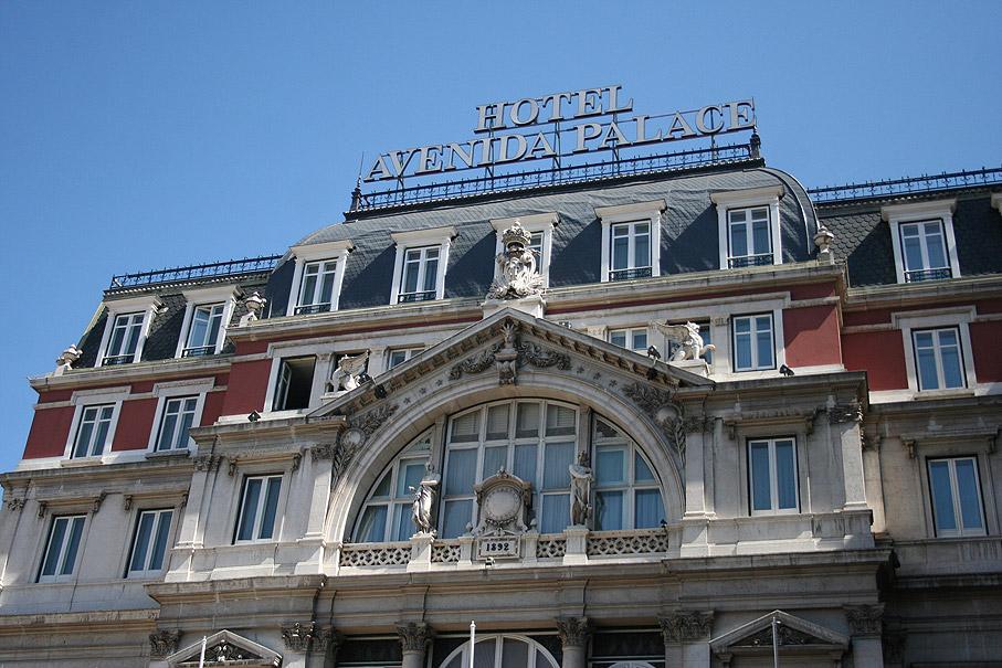 Fotografia Hotel Avenida Palace, Praça dos Restauradores Lisboa