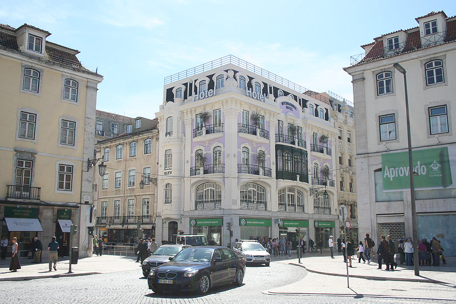 Fotografia Internacional Design Hotel, Rossio Lisboa
