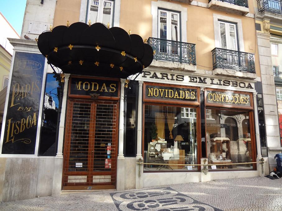Fotografia Loja Paris em Lisboa, Chiado Lisboa