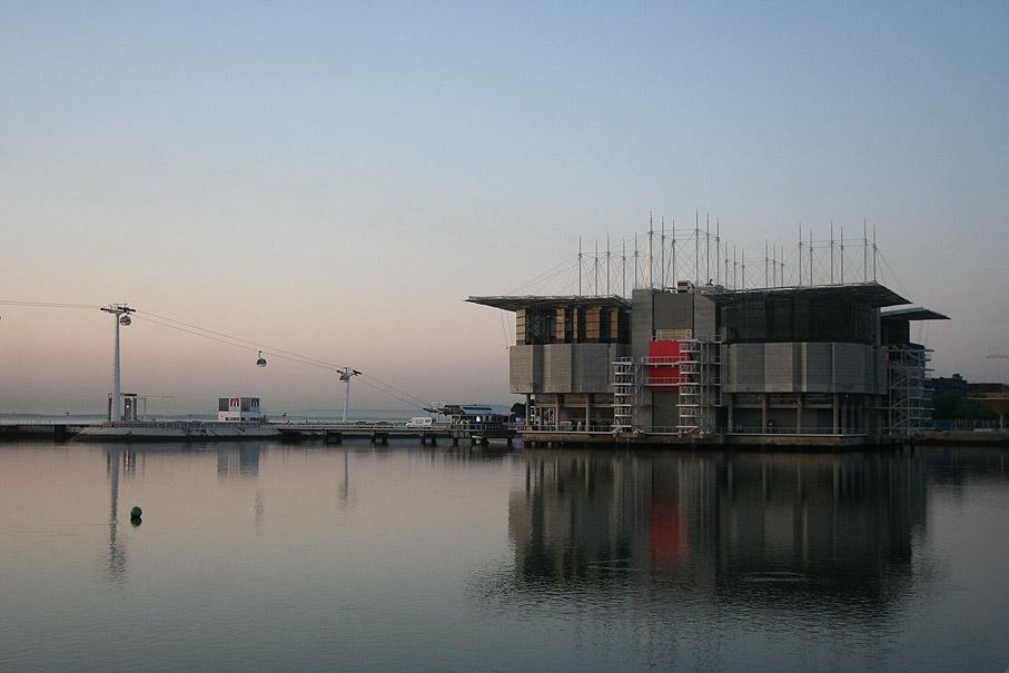 Fotografia Oceanário Museu de Biologia Marinha, Parque das Nações Lisboa