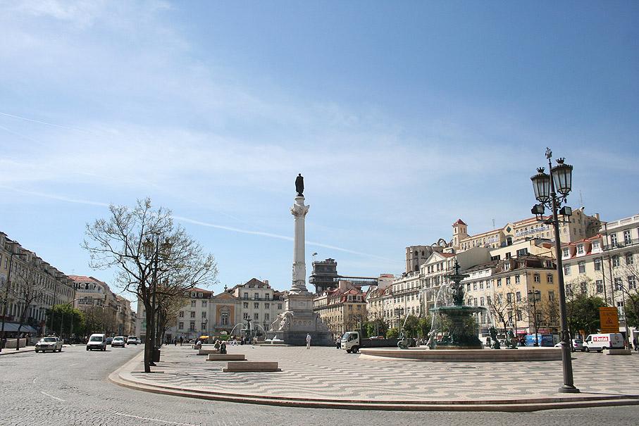 Fotografia Praça D. Pedro IV, Rossio Lisboa