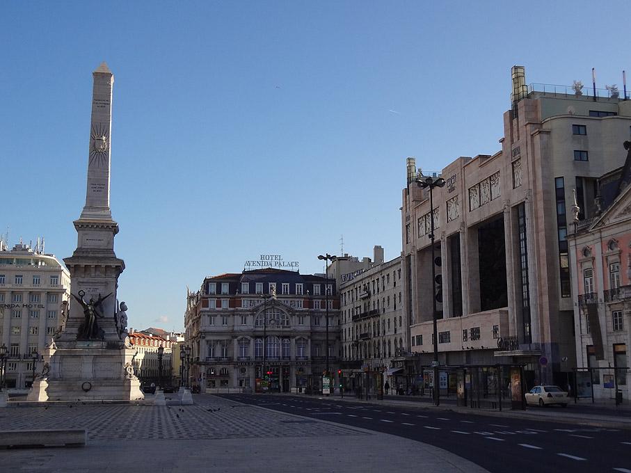 Fotografia Praça dos Restauradores, Lisboa