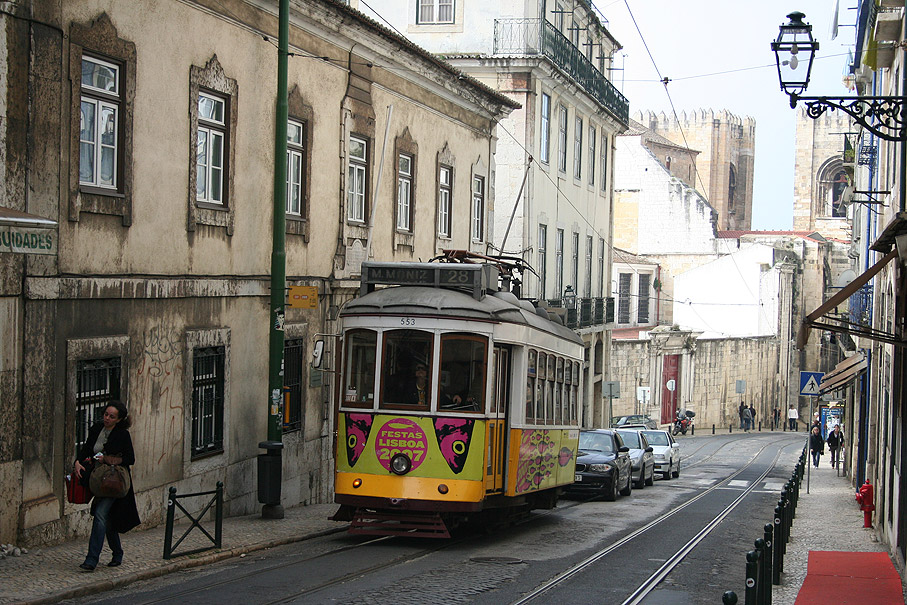 Fotografia Rua Augusto Rosa, Alfama Lisboa