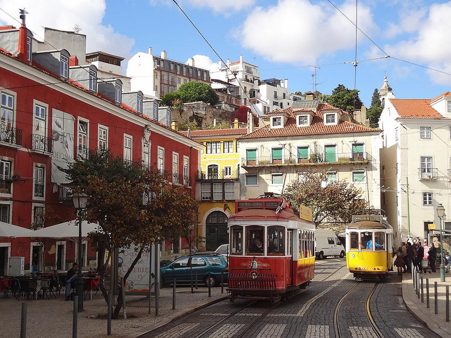 Fotografia Largo das Portas do Sol, Alfama Lisboa