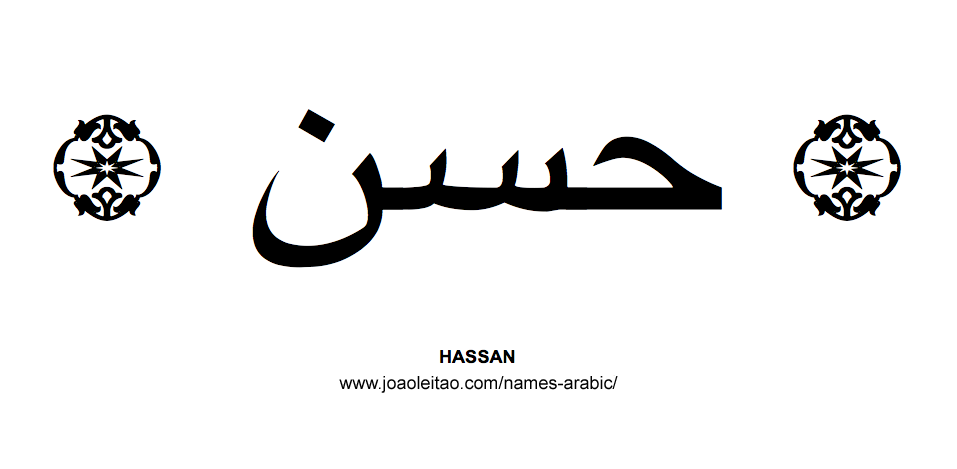 Hassan Muslim Male Name