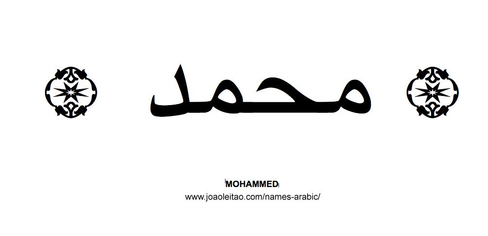 Mohammed Muslim Male Name