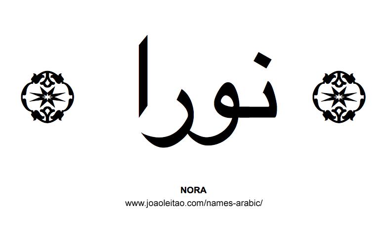 Nora Muslim Woman Name