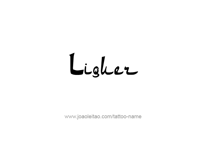 Tattoo Design Drink Name Liquer
