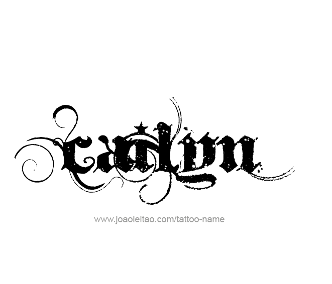 Tattoo Design Name Cailyn