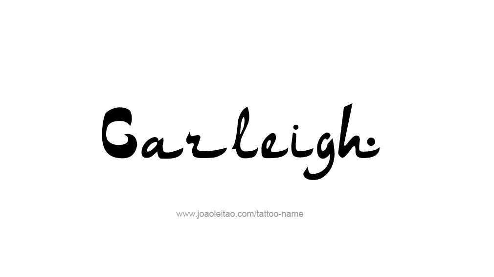 Tattoo Design Name Carleigh