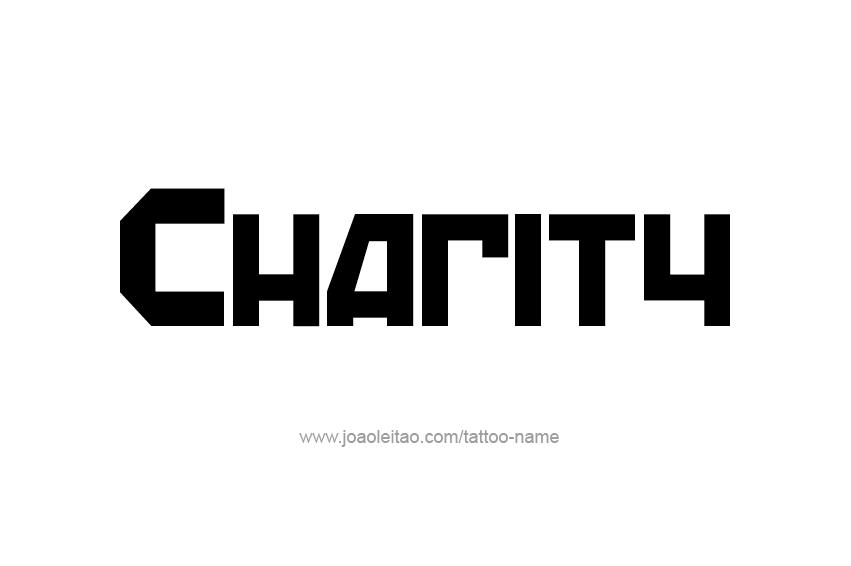 Tattoo Design Name Charity