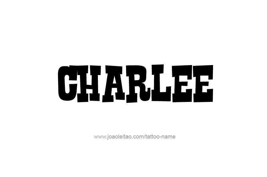 Tattoo Design Name Charlee